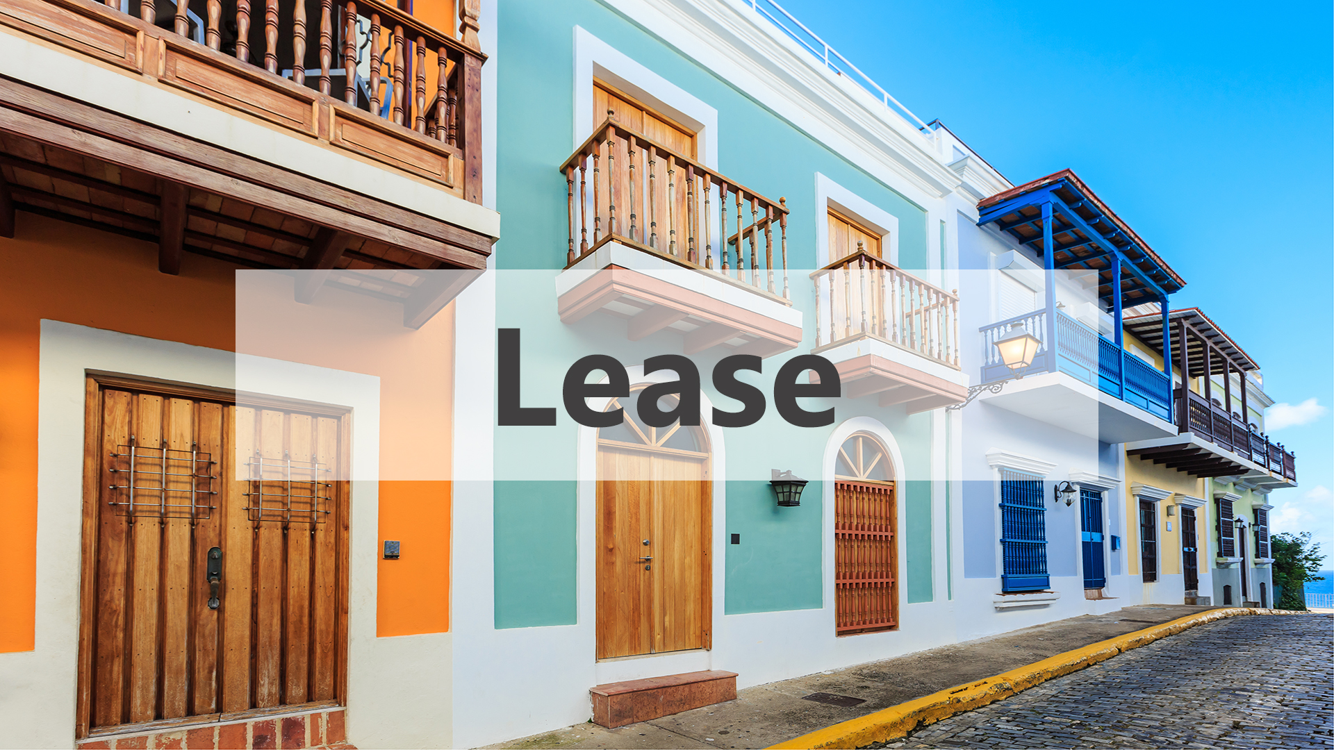 Real Estate for Lease in Puerto Rico